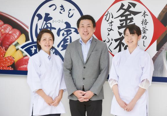 デリバリー寿司の店舗運営スタッフ|20~30代活躍中|正社員|未経験OK|オンライン面接もOK イメージ1