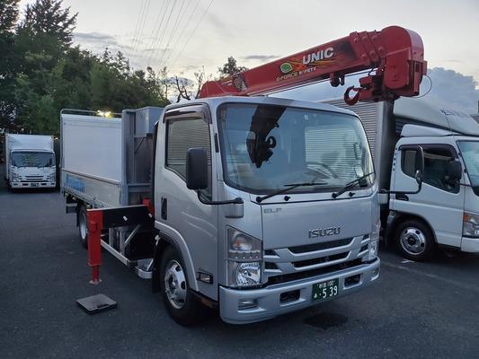 有限会社YAMAHASHI/2t・箱車・平車・クレーン車・ドライバー